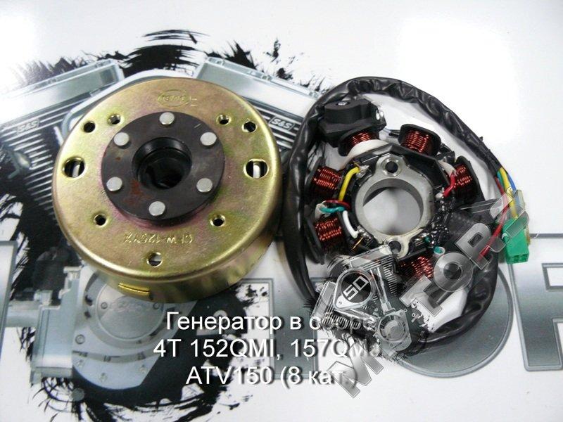 4T 152QM1, 157QMJ, 157QMJ-H, 153QMI, 158QMJ, Электрооборудование, Генераторы