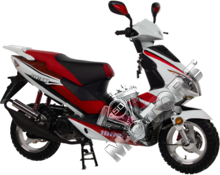 Скутер IRBIS Centrino 50cc 4т