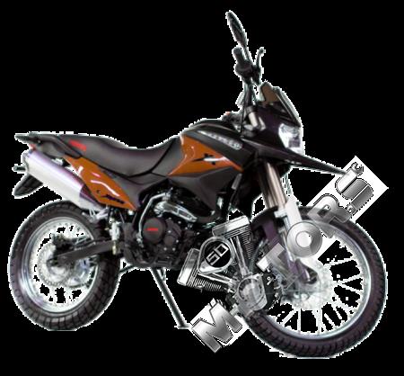 Мотоцикл IRBIS XR250R 250сс 4т