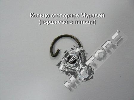 Кольцо стопорное мотороллер Муравей (поршневого пальца)