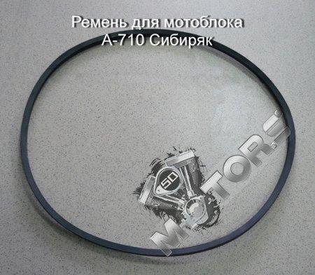 Ремень для мотоблока А-710 модель м/б Сибиряк