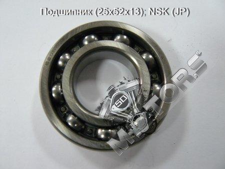 Подшипник (25х52х13); NSK (JP) AD50 коренной подшипник коленвала