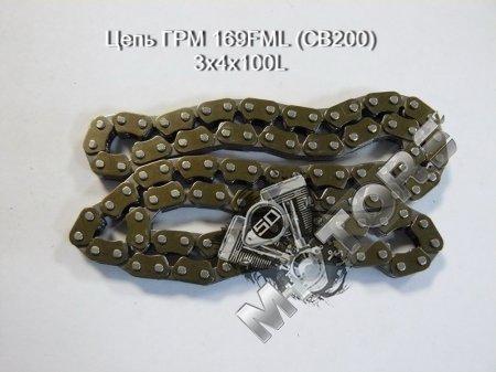 Цепь ГРМ 169FML (CB200) 3х4х100L