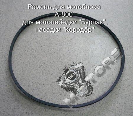 Ремень для мотоблока A-800 для мотолебёдки