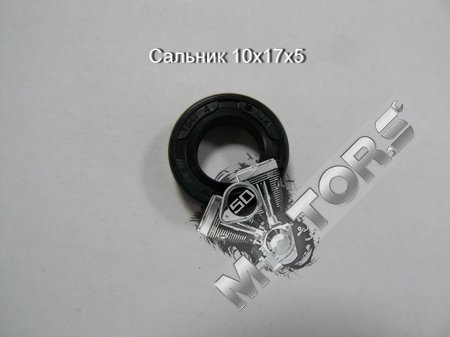 Сальник (резиновый армированный манжет) 10х17х5